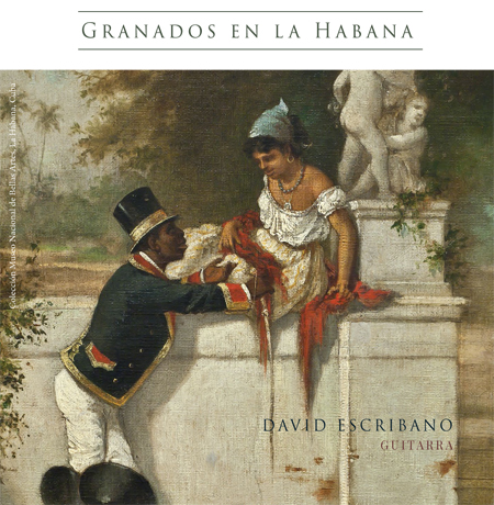 portada booklet granados en la habana